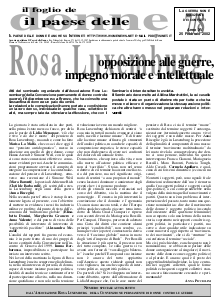 Rosa Luxemburg: opposizione alle guerre