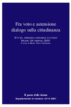 Fra voto e astensione: dialogo sulla cittadinanza