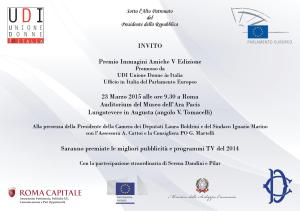 invito 2015 Premio I A