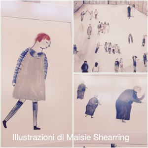 illustrazione di Maisie Shearring