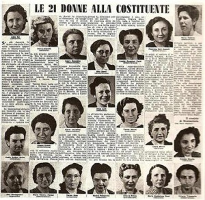 donne - costituente