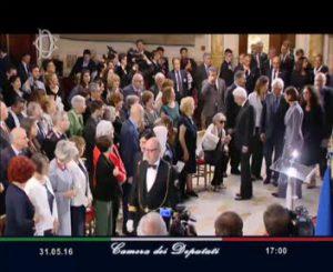 Camera dei Deputati -sala della regina 31 maggio 2016