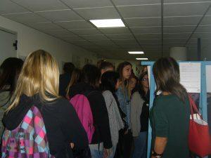 Le studenti in vita alla mostra 1946 il voto delle donne a Cassino